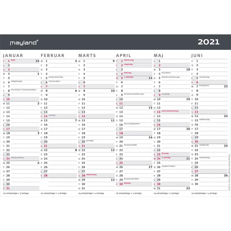 Kalender 2020 - Køb billige Mayland kalendere online