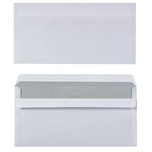 Konvolutter - M65 Office DEPOT hvide 110 x 220 mm - 1000 stk