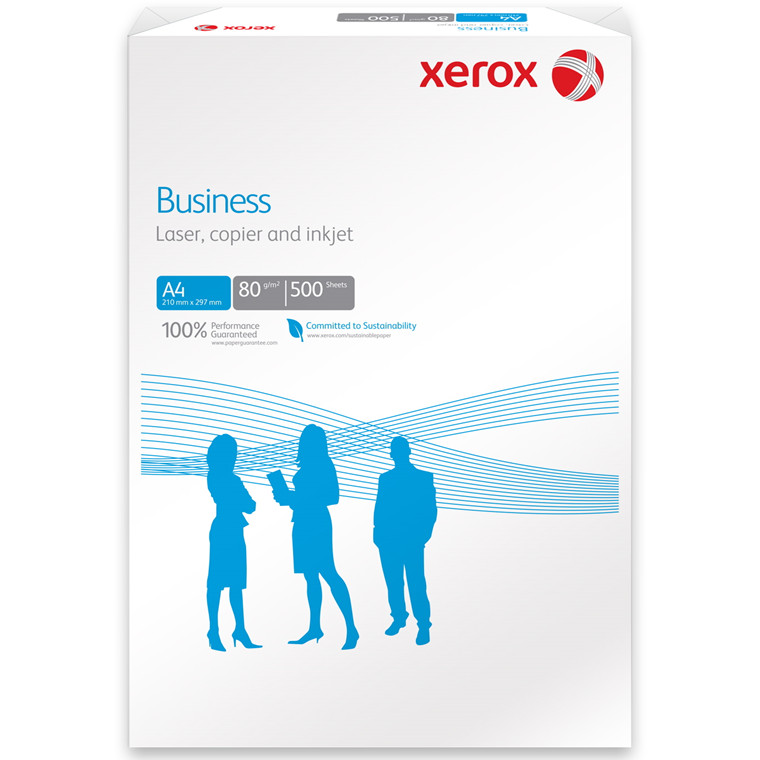 Kopipapir - Xerox Business 80 gram A4 - 500 ark
