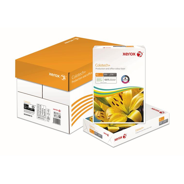 Kopipapir Xerox Colotech+ Gold 200g A3 250ark/pak