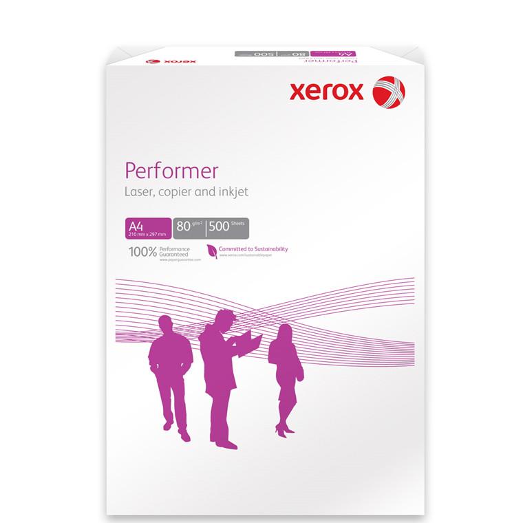 Kopipapir - Xerox Performer 80 gram A4 - 500 ark