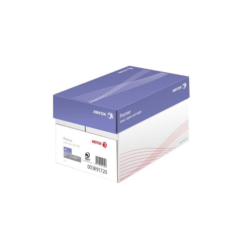Kopipapir - Xerox Premier 80 gram A4 - 2500 ark