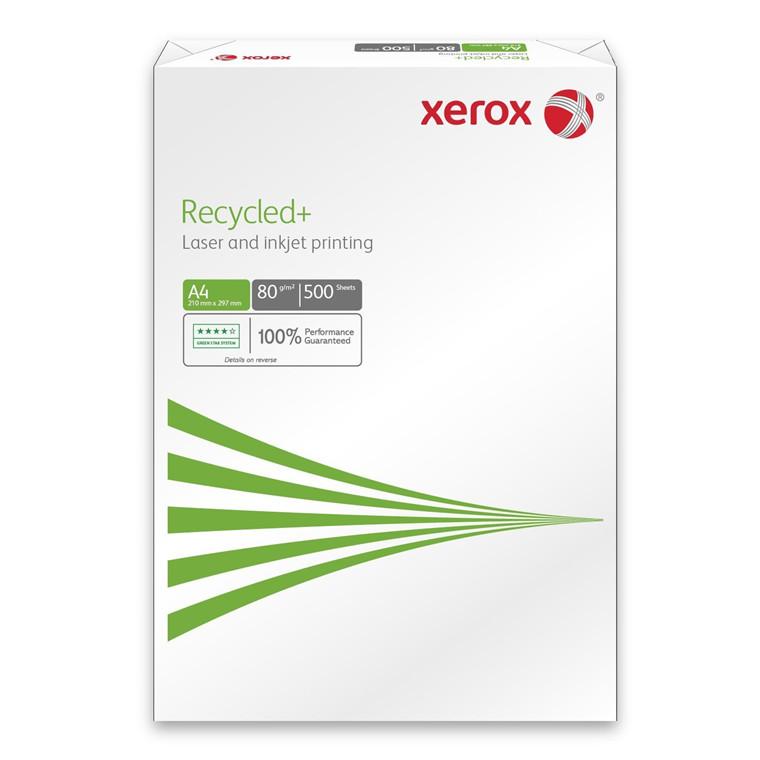 Genbrugspapir Xerox Recycled+ 80g A4 - 500 ark
