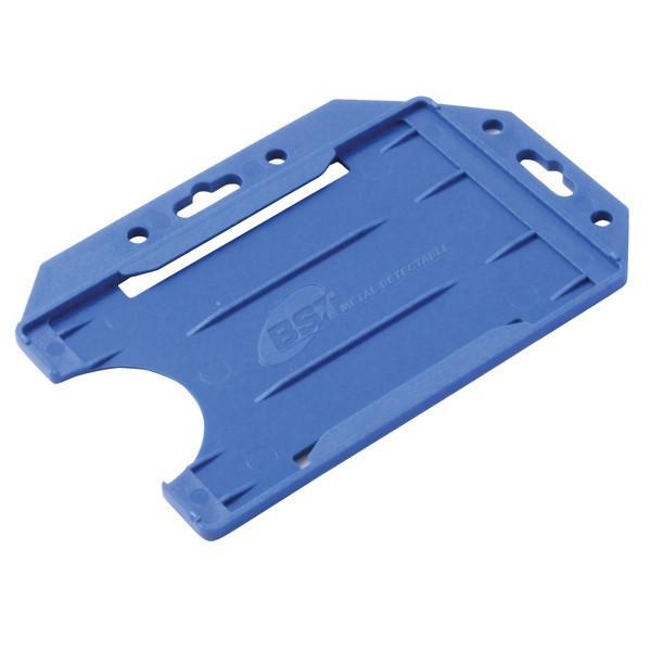 Kortholder til ID-kort - BST blå metaldetekterbar