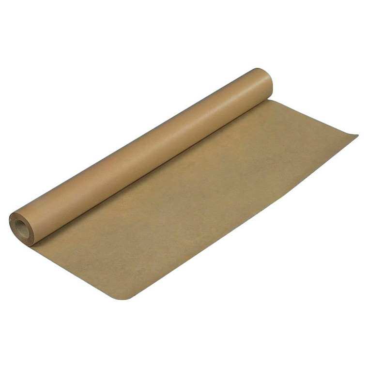 Brunt indpakningspapir 100cmx50m 80g