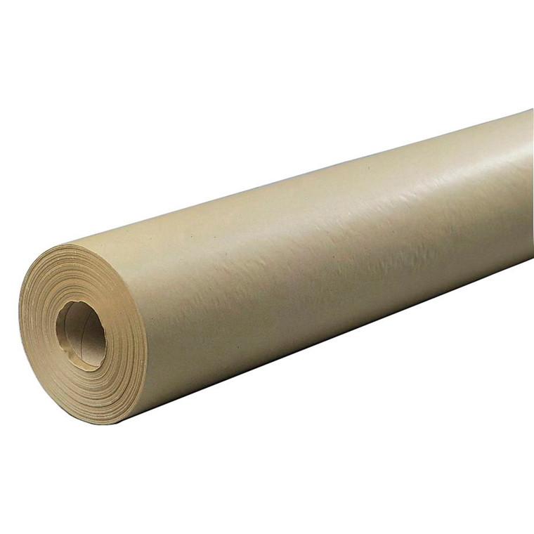 Brunt indpakningspapir 40cmx200m 60g