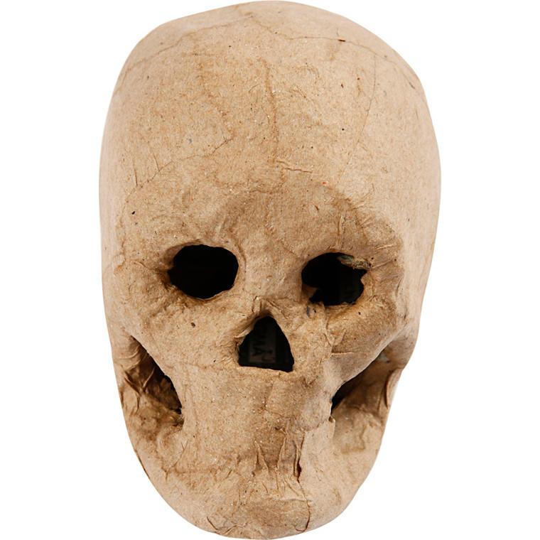 Kranium - Højde: 10 cm.