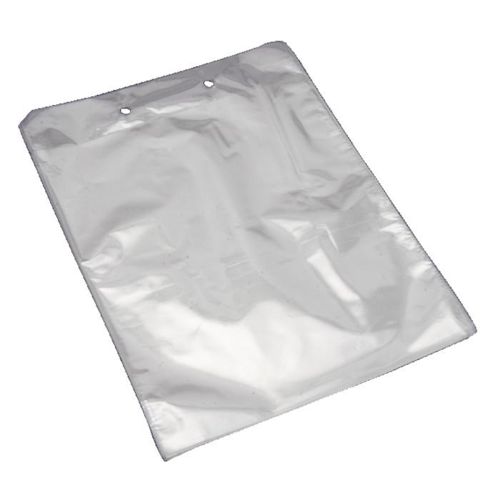 Krokodillenæbspose, OPP, transparent, 20 my, 25x30 cm, 3,5 l,