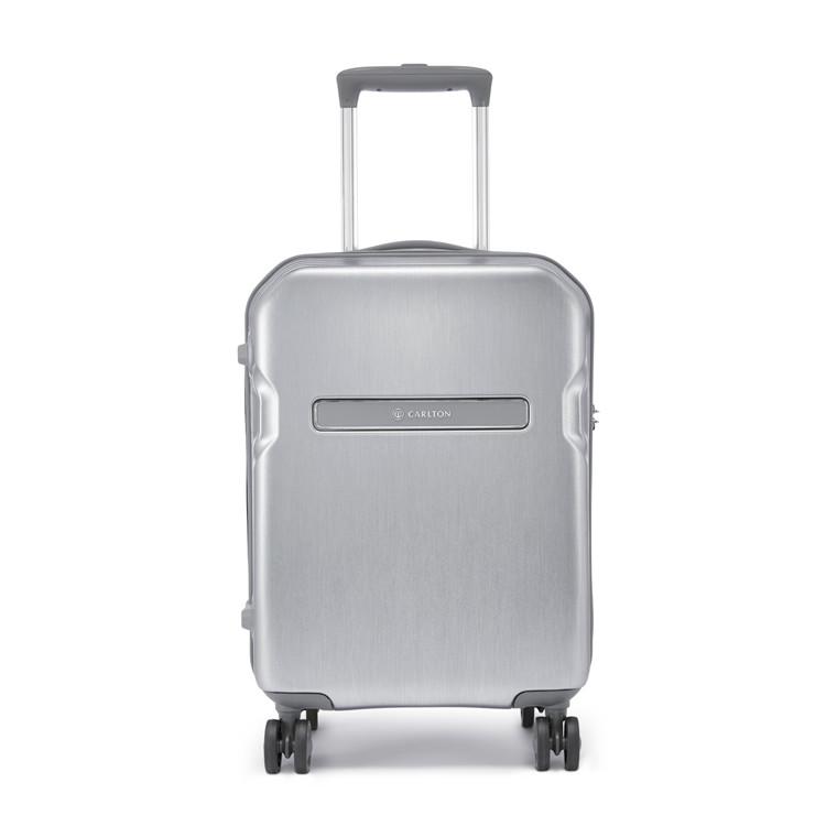 Kuffert Carlton Insignia 55 W8 silver m hjul