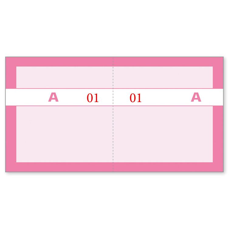 Kuponbog rosa 2x1-100 130x70mm 92 2206 50
