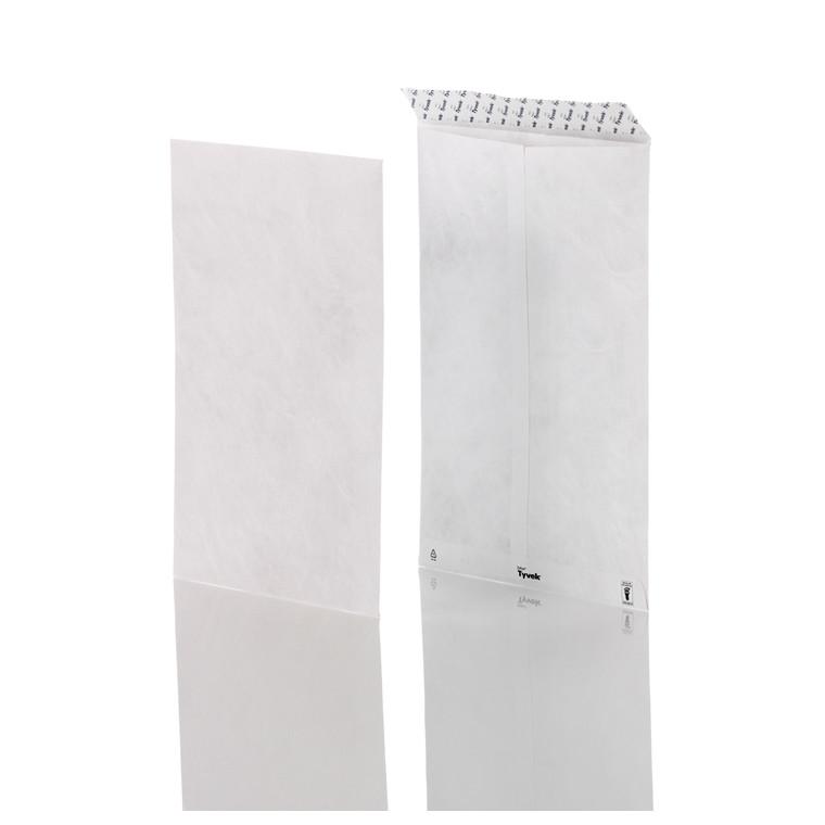 Kuvert -  Plastfiber E4P NP 305 x 394 mm hvid - 100 stk