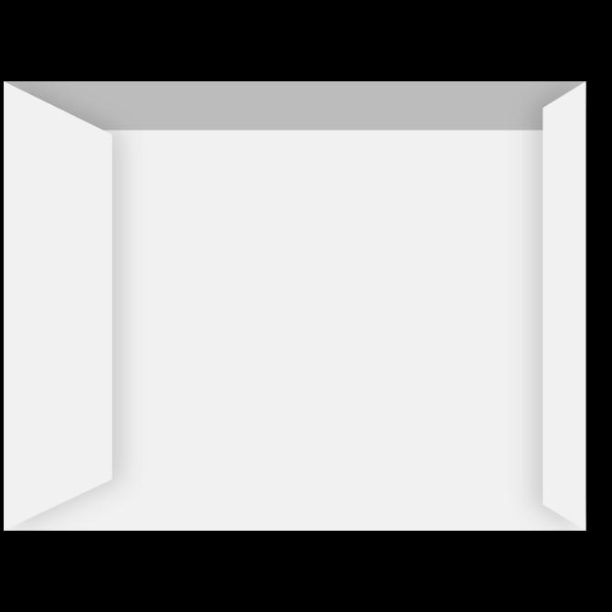 Kuverter - C4P hvid 229 x 324 mm Peel & Seal 10108 - 500 stk