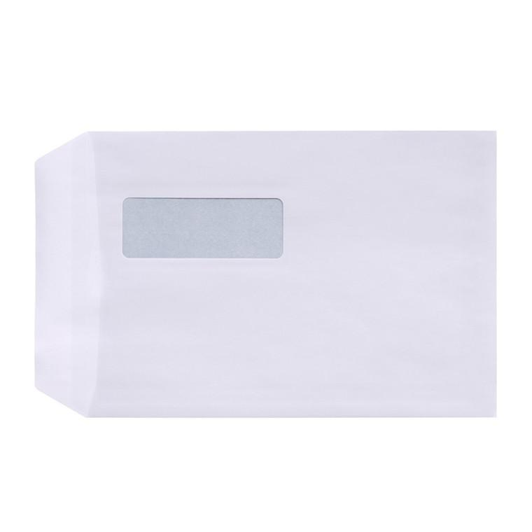 Kuverter - C5P med rude hvid 162 x 229 mm 3546-13543 DS - 500 stk