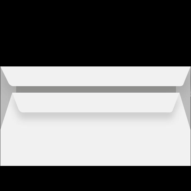 Kuverter - C6 genbrugspapir 114 x 162mm 13240 -  500 stk