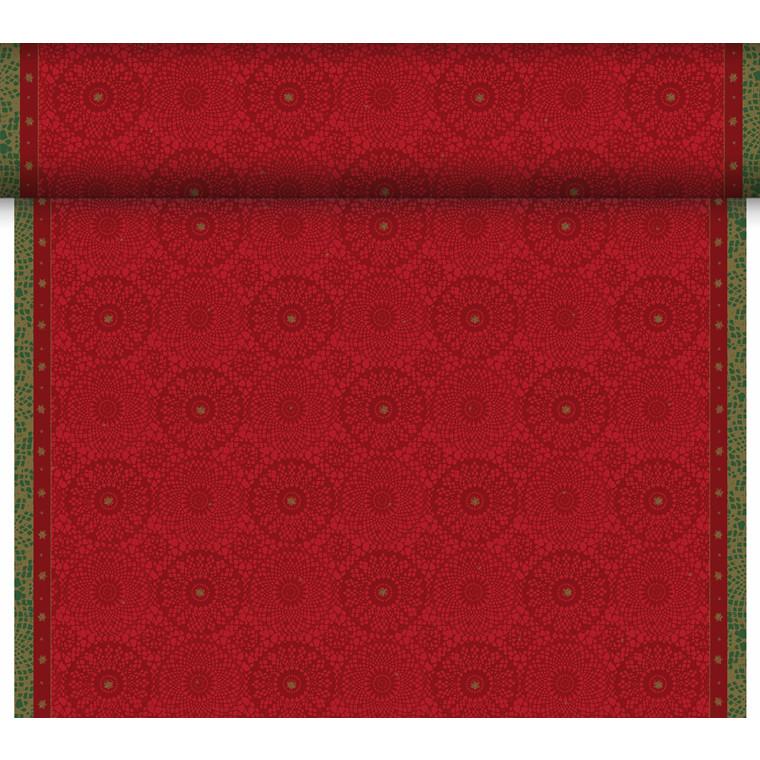 Kuvertløber Dunicel 40 cm x 24 meter festive charme perforeret - 6 ruller