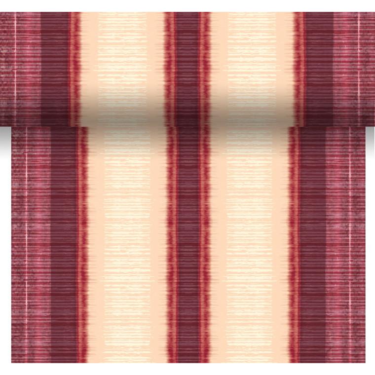 Kuvertløber Dunicel Como Bordeaux 40 cm x 24 meter perforeret - 6 ruller