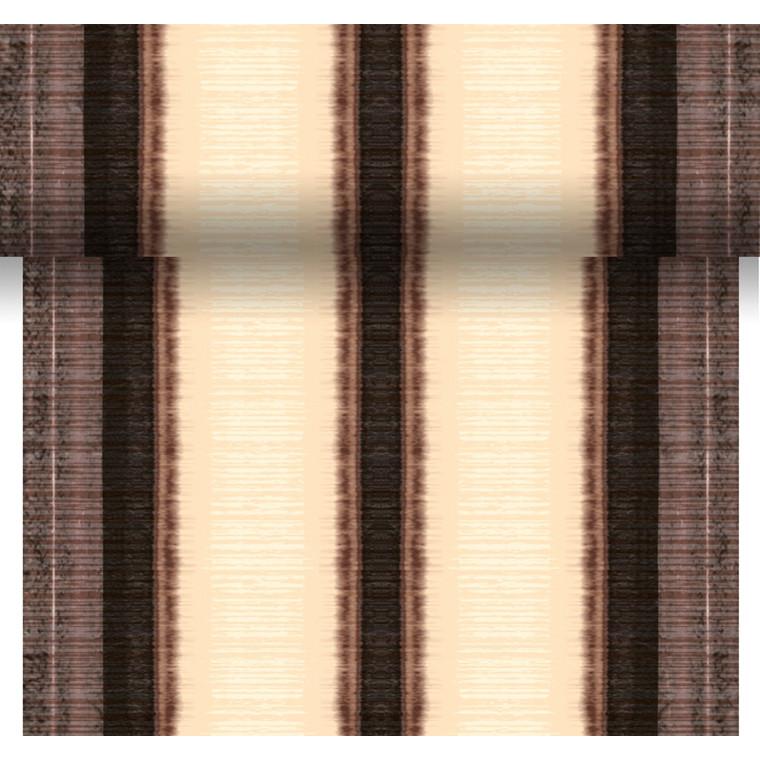Kuvertløber Dunicel Como Brown 40 cm x 24 meter perforeret - 6 ruller