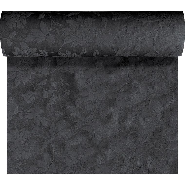 Kuvertløber Dunicel sort 45 cm x 24 meter perforeret - 4 ruller