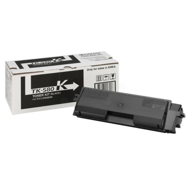 Kyocera Mita TK-580K FS-C5150DN black toner 3.5K