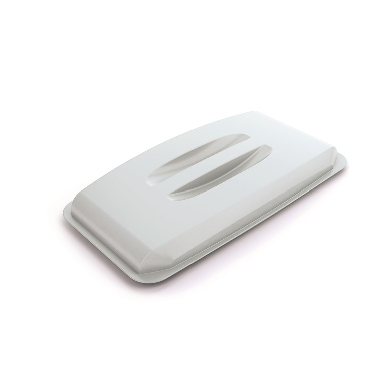 Låg til affaldsspand Durabin 60 - Hvid