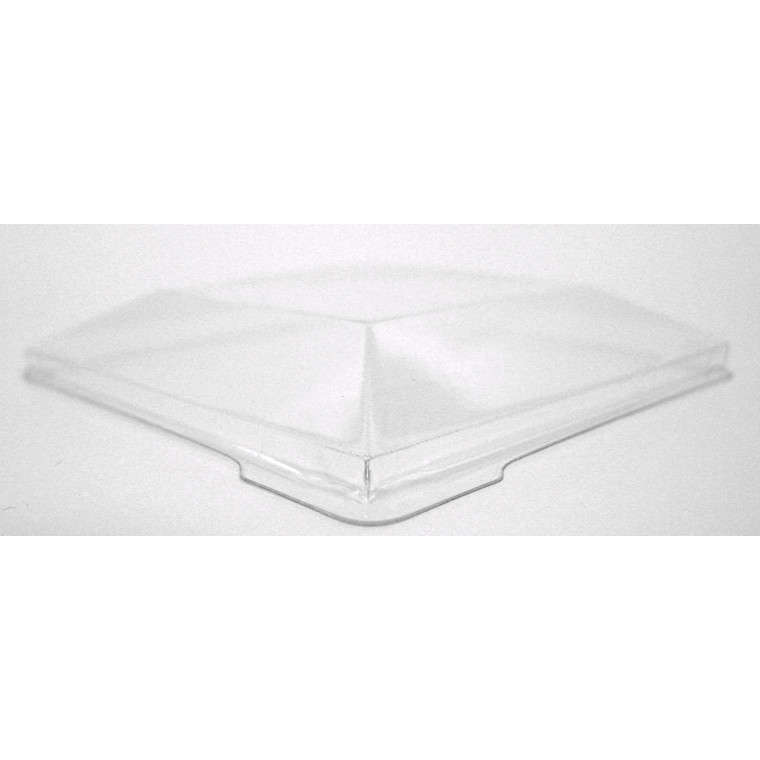 Låg til dessertbæger PS klar firkantet Kova22 - 400 stk