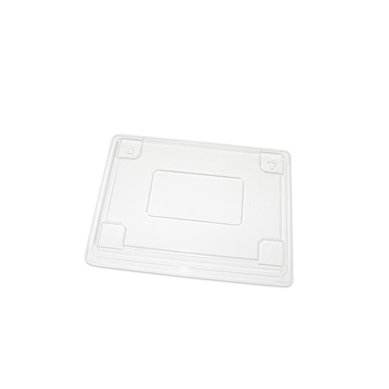 Låg til stor Sushi klar plast - 250 my til 1271185 - 300 stk