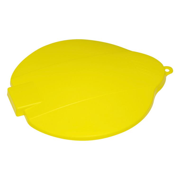 Låg, Vikan Hygiejne, gul, til spand, 31 cm,