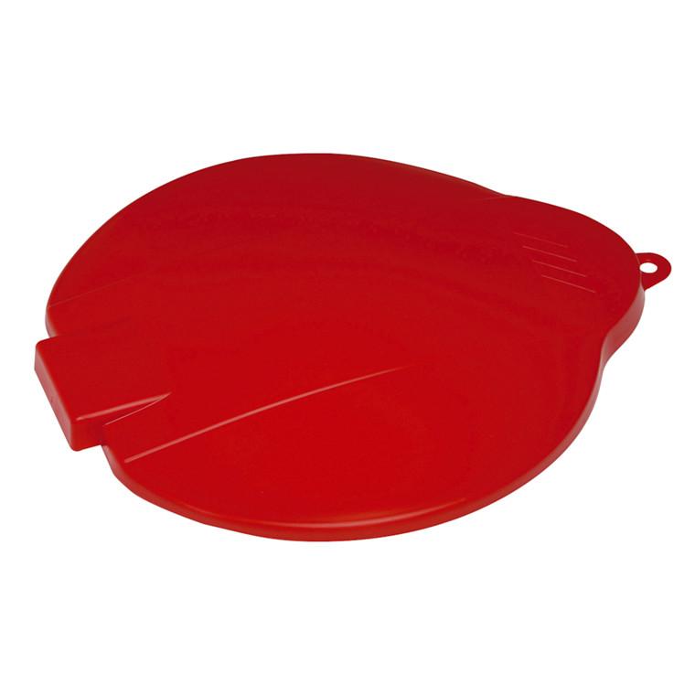 Låg, Vikan Hygiejne, rød, til spand, 31 cm,