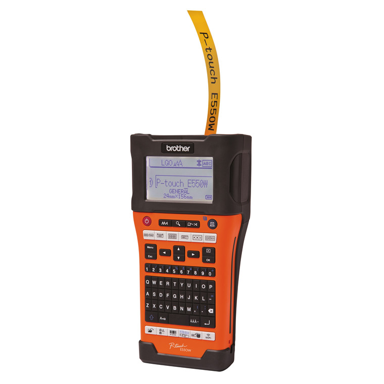 Labelmaskine Brother PT-E550WVP 3,5-24 mm TZ-tape, Wi-Fi