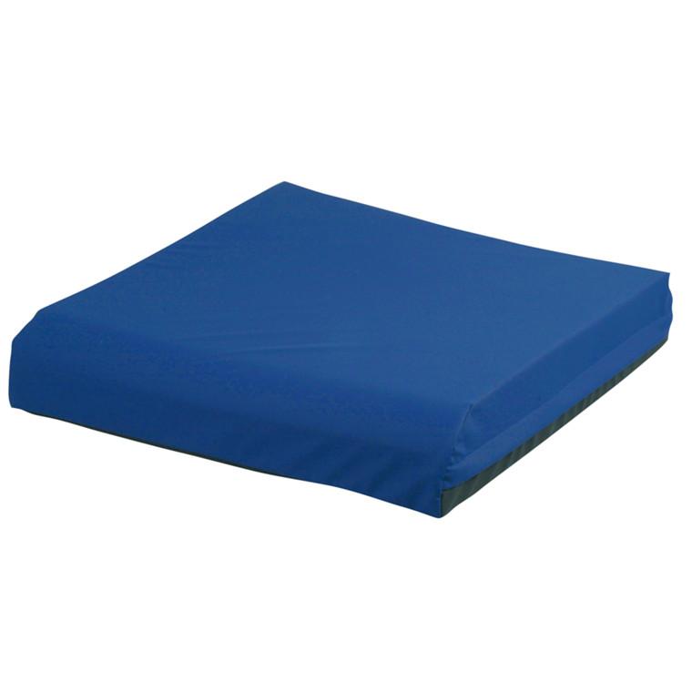 Lændestolspude med Techmaflex betræk, blå, 50x50 cm