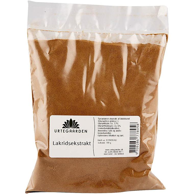 Lakridsekstrakt | 100 gram