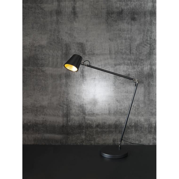 Lampe LightUp Tokyo sort 3-LED 3-trin touchdimmer