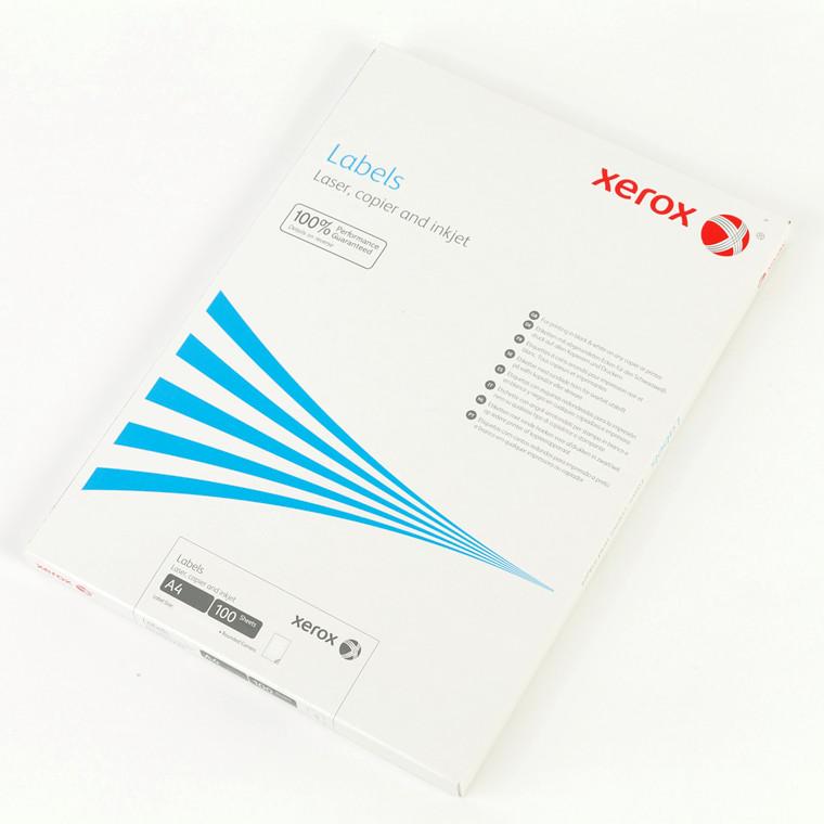 Laserlabels Xerox 105x42mm 003R97455 14stk/ark 100ark/æske