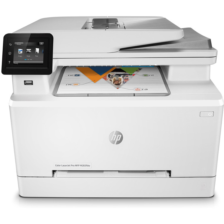 Laserprinter HP Color LaserJet Pro MFP M283fdw