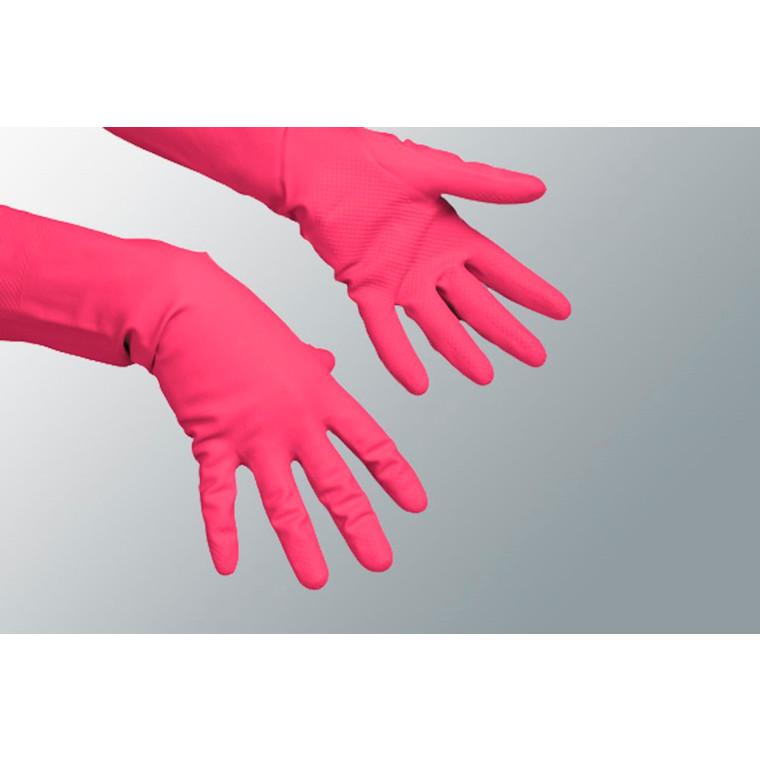 Latexhandsker medium (7½-8) rød 12par/pak