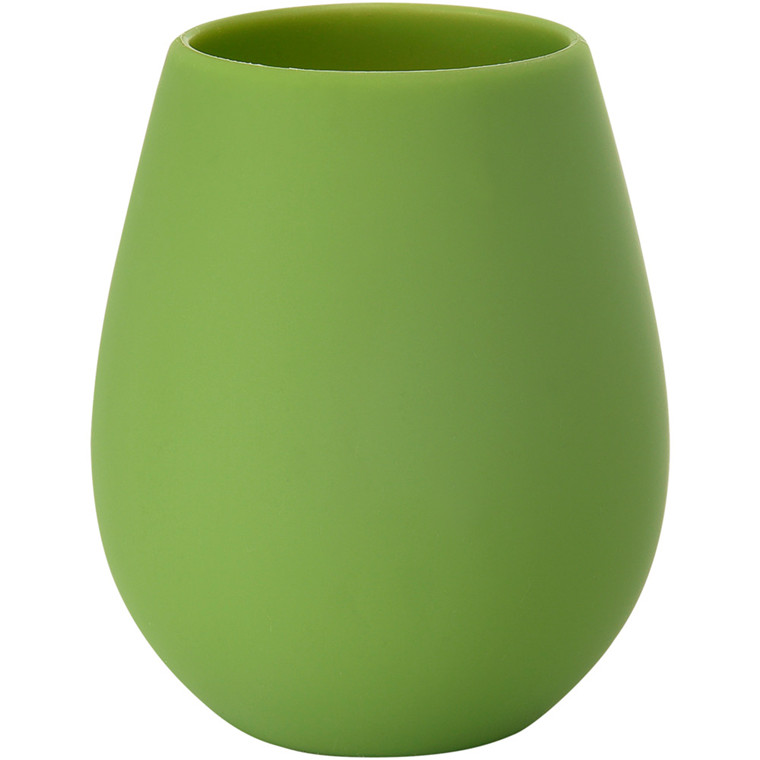 LED-lysestage, Duni Tropical, 85x103mm, grøn, silikone *Denne vare tages ikke retur*