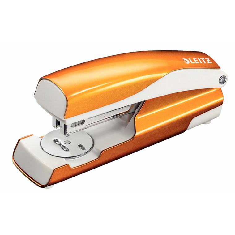 Leitz 5502 WOW hæftemaskine - i orange til 24/6 eller 26/6 klammer