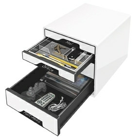 Leitz Desk Cube  4-drawer white