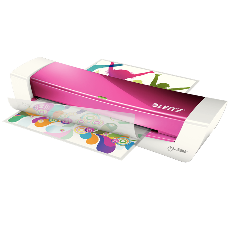 Leitz iLAM Home Office - Laminator A4 Pink til 80-125 mic