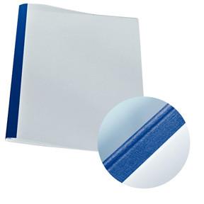 Limomslag - Leitz karton 1,5 mm A4 blå max 15 ark - 25 stk