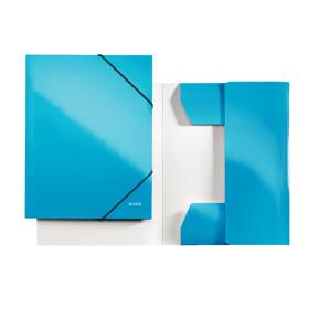 Leitz Folder 3-flap WOW A4 blue