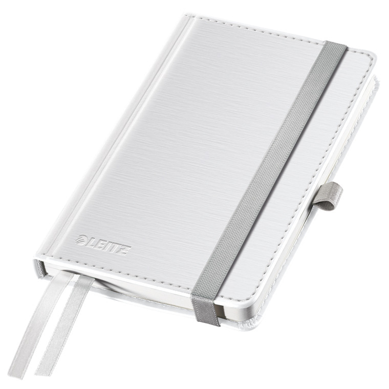 Leitz Notesblok - Style A6 Hard linieret hvid - 80 sider