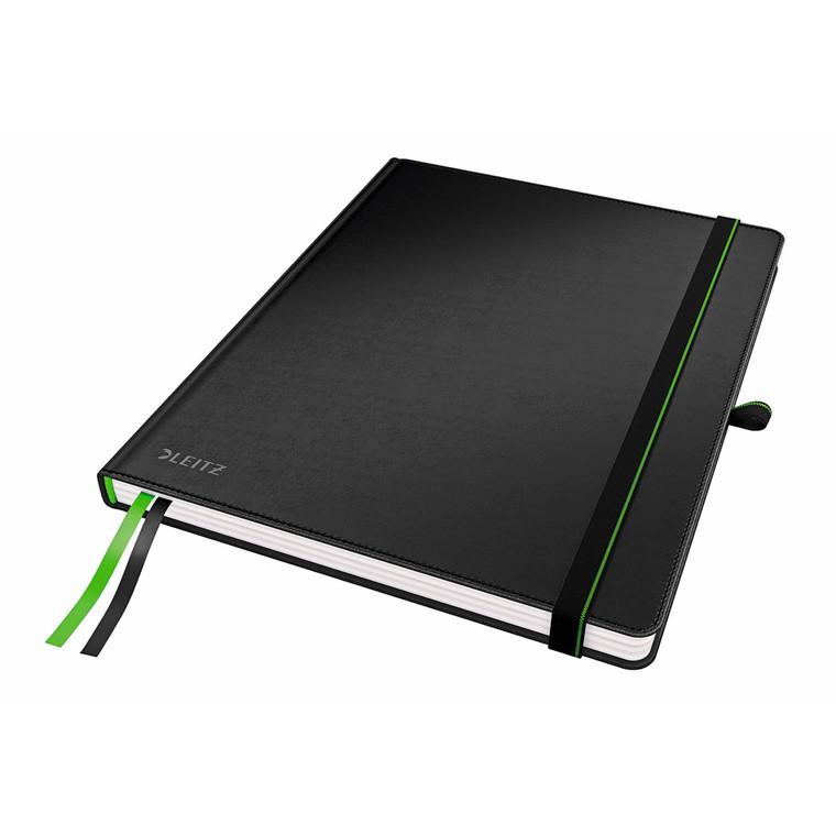 Leitz Notesbog Complete - Sort iPad størrelse - 80 linjeret sider