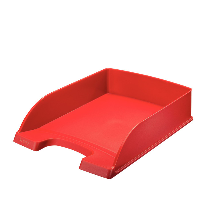 Leitz Plus Standard brevbakke A4 - rød