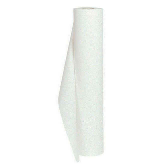 Lejepapir, Neutral, hvid, 2-lags, uperforeret, 52 cm x 50 meter