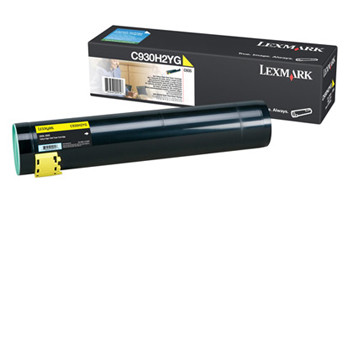 Lexmark C935x toner yellow high kap.  24K