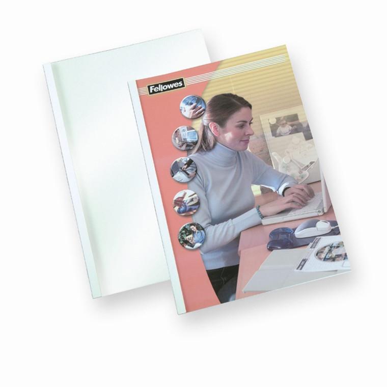 Limomslag - Fellowes A4 6 mm til 44-60 sider - 100 stk