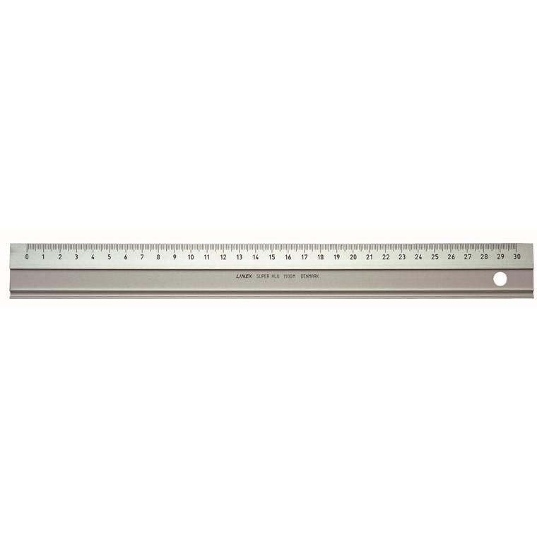 Lineal aluminium 30cm LINEX 1930M