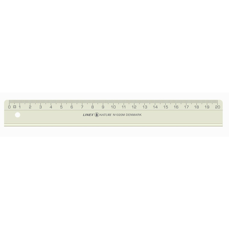 Lineal Linex N1020BLK Nature 20cm bulk