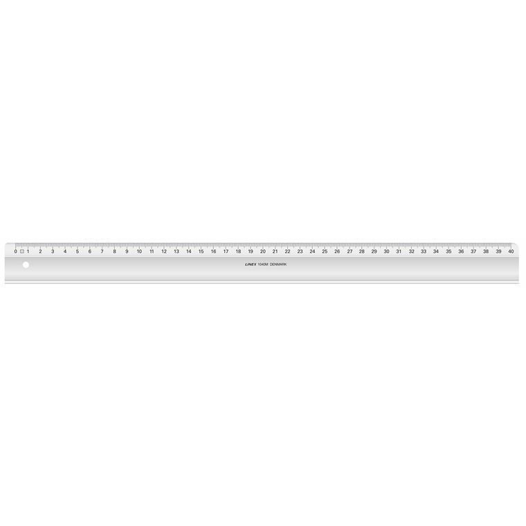 Lineal 40 cm plast - LINEX 1040